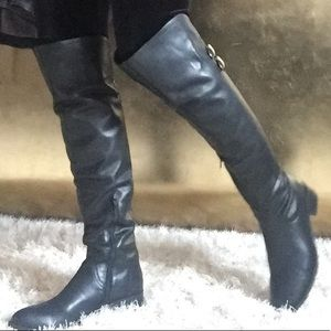 Shoes - 😍Over the knee Leather boots😍